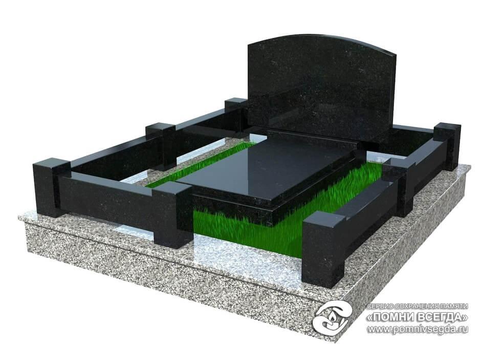 Цоколь из габбро-диабаза Новочеркасск памятник надгробие могилках